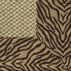 <strong>Siskiyou Bengal Bordered Rug</strong> by Fibreworks