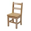 "J.B. Poitras 16"" Large Maple Classroom Glides Chair"