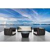 International Design USA Cappuccino 4 Piece Seating Group