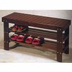 <strong>International Design USA</strong> Shoe Storage Bench