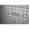 Triton Products LocHook 8-1/8 In. W with 3/4 In. I.D. Zinc Plated Steel Multi-Prong Tool Holder for LocBoard