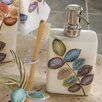 Croscill Home Fashions Mosaic Leaves Soap Dispenser