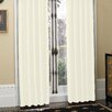 Croscill Home Fashions Newport Polyester Pleated Curtain Panel (Set of 2)
