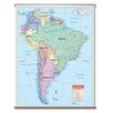 <strong>Universal Map</strong> Essential Wall Map - South America