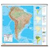 <strong>Universal Map</strong> Advanced Physical Map - South America