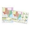 <strong>Universal Map</strong> Thematic Deskpad Map - Texas