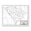 <strong>Outline Map - United States</strong> by Universal Map