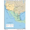 Universal Map U.S. History Wall Maps - Mexican War 1846-1848
