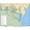 <strong>U.S. History Wall Maps - Civil War in Eastern U.S.</strong> by Universal Map