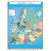 <strong>U.S. History Wall Maps - Post Cold War Europe, Middle East & North ...</strong> by Universal Map