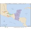 Universal Map World History Wall Maps - Mesoamerican Societies