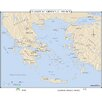 <strong>Universal Map</strong> World History Wall Maps - Classical Greece