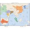 Universal Map World History Wall Maps - Asia c.750 CE