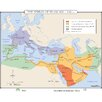 <strong>Universal Map</strong> World History Wall Maps - Spread of Islam