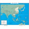 <strong>World History Wall Maps - Asia 1930-1941</strong> by Universal Map