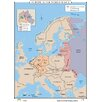 Universal Map World History Wall Maps - Europe after World War II