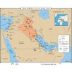 <strong>World History Wall Maps - The Persian Gulf War 1991</strong> by Universal Map