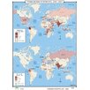 <strong>World History Wall Maps - Terrorism Hot Spots 2001-2002</strong> by Universal Map