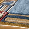 <strong>Whimsy Denim Kids Rug</strong> by Momeni Lil' Mo