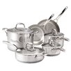 <strong>Stainless Steel 10-Piece Cookware Set</strong> by Guy Fieri