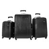 Ricardo Beverly Hills Skyway Nimbus 3 Piece Spinner Suitcase Set