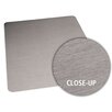 <strong>Brushed Stainless Design Chair Mat</strong> by ES Robbins Corporation