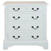 <strong>Grosvenor 5 Drawer Chest</strong> by Alterton Furniture