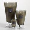 Zodax Illuminaria 3 Piece Narcissus Vase Candle Jar Set