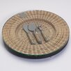 Zodax Barclay Butera Montecito Round Cheese Tray with Utensils