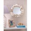 """Zodax Costa Brava 24"""" H x 27.25"""" W Seashell Mirror"""