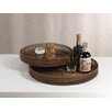 <strong>Bamboo Round Serving Tray (Set of 2)</strong> by Zodax