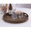 <strong>Bago Bago Vine Round Serving Tray</strong> by Zodax