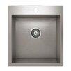 "Julien ProInox 18"" x 20"" Topmount Single Bowl Kitchen Sink"
