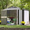 <strong>Designer Series 10ft. W x 8.5ft. D Steel Stool Shed</strong> by Arrow
