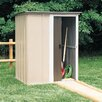 Arrow 4.5 Ft. W x 3.5 Ft. D Brentwood Steel Tool Shed