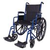 """<strong>Classics 20"""" Folding Wheelchair</strong> by Carex"""