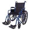 "Carex Classics 20"" Folding Wheelchair"