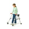 Pre-adolescent Walker with Built-In Seat and Silent Wheels / Legs