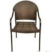 Europa Leisure San Tropez Stacking Arm Chair (Set of 2)