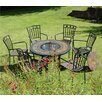 <strong>Durango 7 Piece Round Low Dining Set</strong> by Europa Leisure