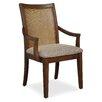 Somerton Dwelling Claire de Lune Cane Arm Chair (Set of 2)