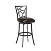 """<strong>Pastel Furniture</strong> Homestead 26"""" Swivel Bar Stool with Cushion"""