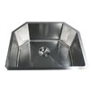 "<strong>Nantucket Sinks</strong> 23.75"" x 18.75"" Small Radius Stainless Steel Kitchen Sink"