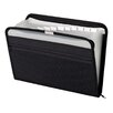 <strong>13 Pocket Zip Fabric File Folder</strong> by Globe Weis