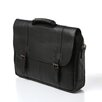 <strong>Traditional Leather Laptop Briefcase</strong> by Winn International
