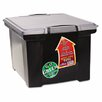 <strong>Portable File Tote with Locking Handle Storage Box</strong> by Storex