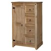 Core Products Mexican 4 Drawer and 1 Door Chest