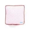 Caden Lane Modern Vintage Pink Square Cotton Pillow