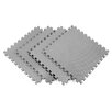 Recyclamat Solid Color Foam Mats in Gray (Pack of 4)