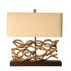 "Palecek Vine 20.5"" H Table Lamp with Rectangle Shade"